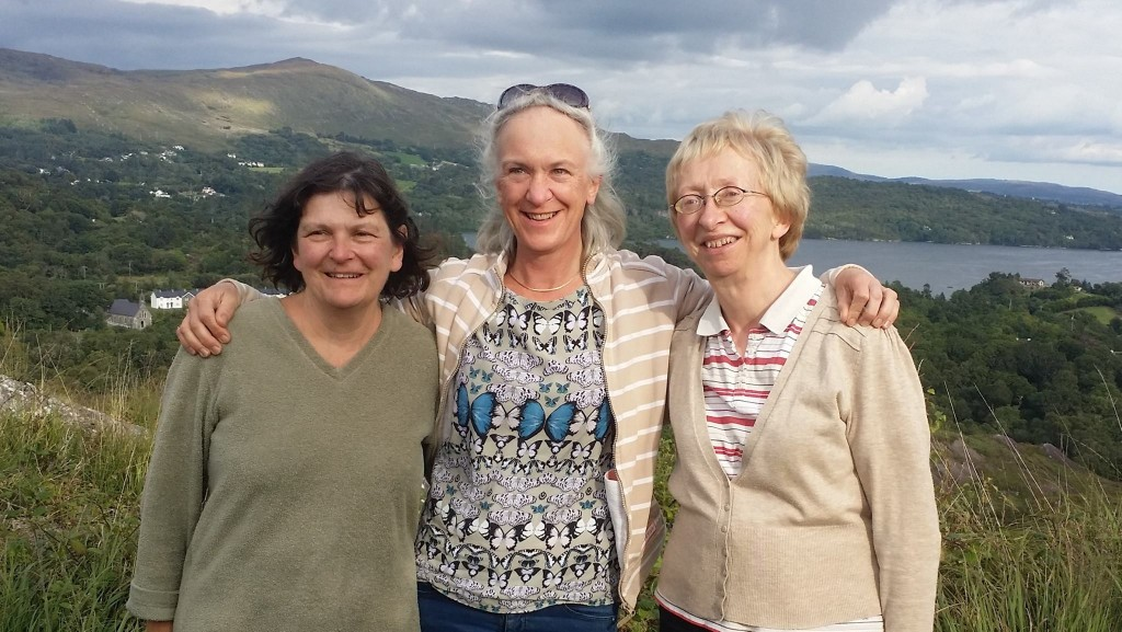The Ellen Hutchins Festival Organisers 2015; Madeline Hutchins, great great grandniece and researcher on Ellen; Clare Heardman, National Parks and Wildlife Service; Angela O'Donovan, Bantry Historical Society