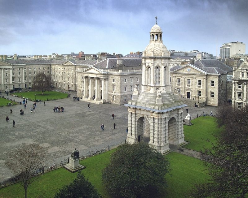 Trinity College Dublin today.